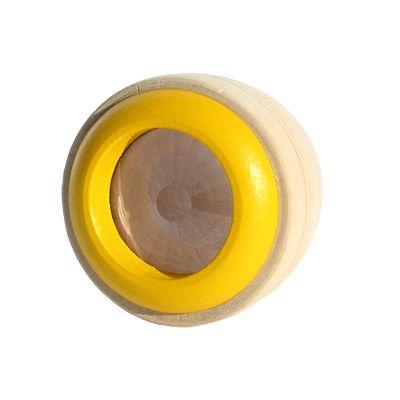Kaleidoskop i trä - gul