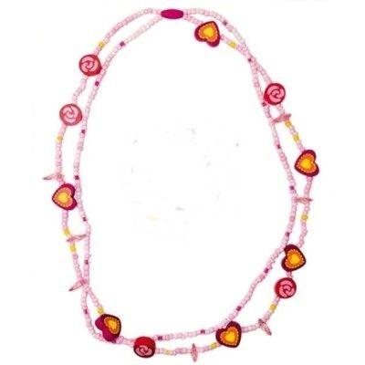 Halsband - rosa/cerise