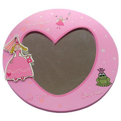 Spegel - prinsessa och groda