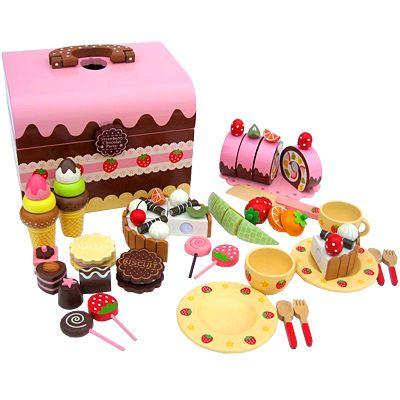 Leksaksmat - Strawberry Chocolate Party