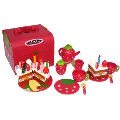 Kaklåda - Strawberry Birthday Party