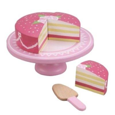 Leksaksmat - Prinsesstårta - rosa - MaMaMeMO