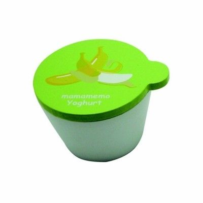 Leksaksmat - Yoghurt i trä - banan