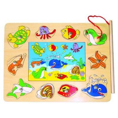 Pussel - fiskar och fiskespel