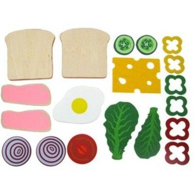 Leksaksmat - Gör din egen sandwich