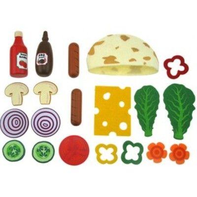 Leksaksmat - Fyll ditt eget pitabröd