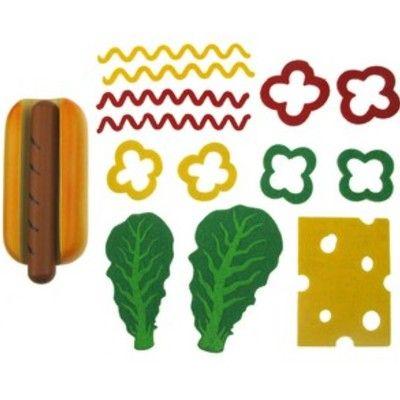Leksaksmat - Gör din egen hot dog