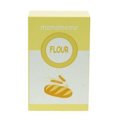 Leksaksmat - Paket med mjöl i trä - MaMAMeMo