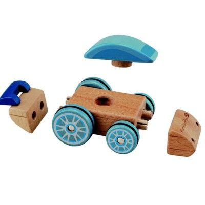 Bil i trä - bygg själv olika - ekologisk från EverEarth