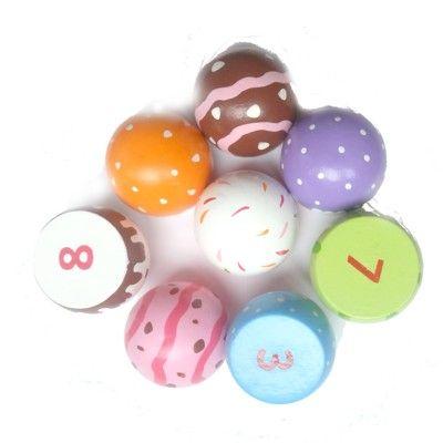 Leksaksmat - småkakor, 8 st