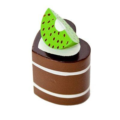Leksaksmat - bakelse - chokladhjärta