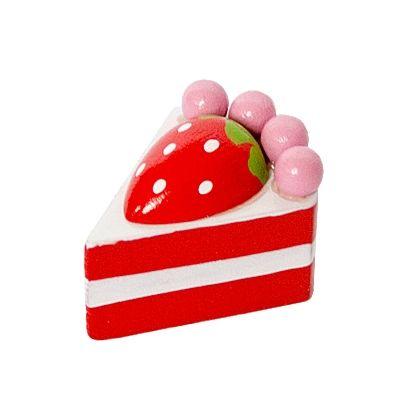 Leksaksmat - bakelse - jordgubbstårta