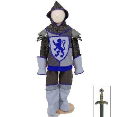 Utklädning - Riddare med svärd, 3-5 år