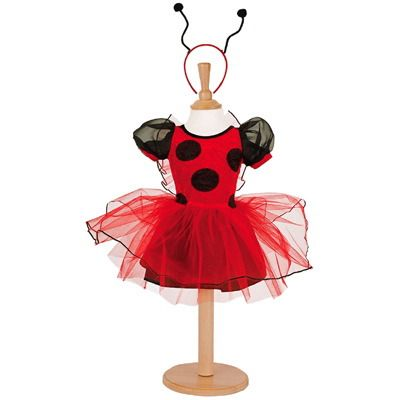 Nyckelpiga - klänning  -  3-5 år
