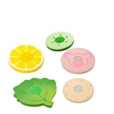 Leksaksmat - Pålägg och grönsaker i trä - 5 st