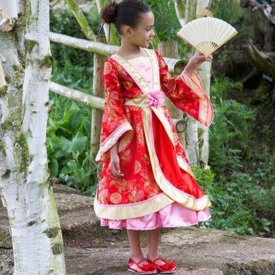 Orientalsk klänning - 6-8 år