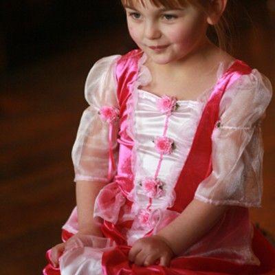 Prinsessklänning posy, 2-3 år