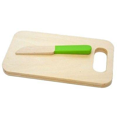 Leksaksmat - skärbräda med kniv