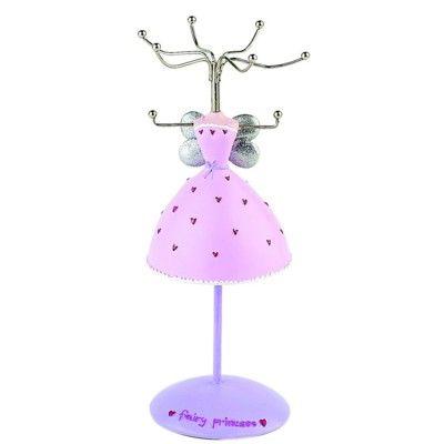 Smyckeställ - rosa klänning