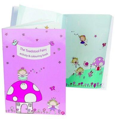 Pysselbok - Prinsessa och svamp