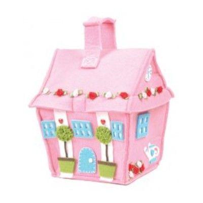 Dörrstopp - rosa hus