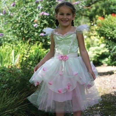 Äppelblomster klänning, 6-8 år