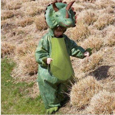 Utklädning - Triceratops, 3-5 år