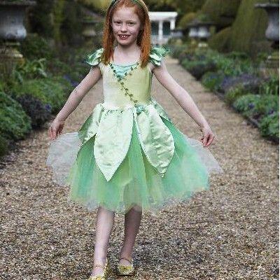 Feklänning - skogsfe, 6-8 år