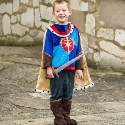 Utklädning - prins med svärd, 6-8 år