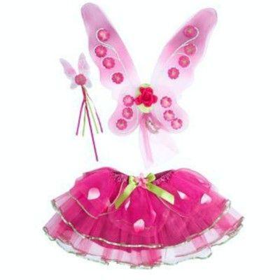 Vingar, kjol och spö - Sugar plum fairy, 3-6 år