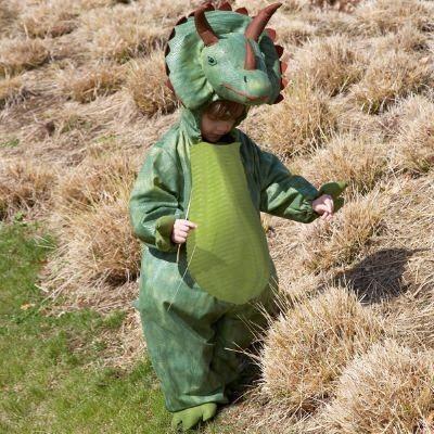 Utklädning - Triceratops, 6-8 år
