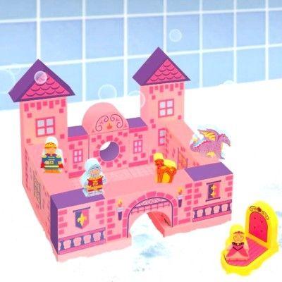 Badleksak - flytande slott