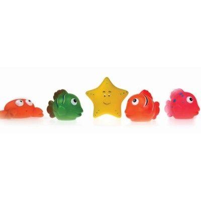 Badleksak - vattensprutande havsdjur