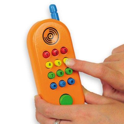 Telefon i trä med ljud