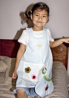 Förkläde/klänning till barn