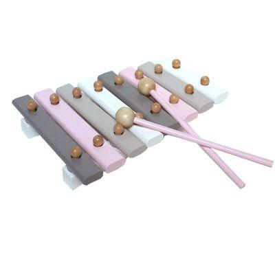 Xylofon i trä - rosa
