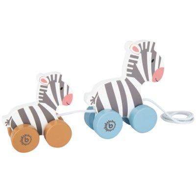 Dragleksak - 2 zebror