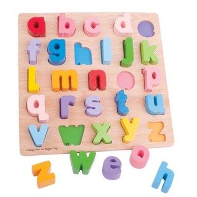 Pussel - små bokstäver - Bigjigs