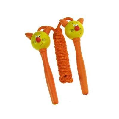 Hopprep - katt - orange handtag