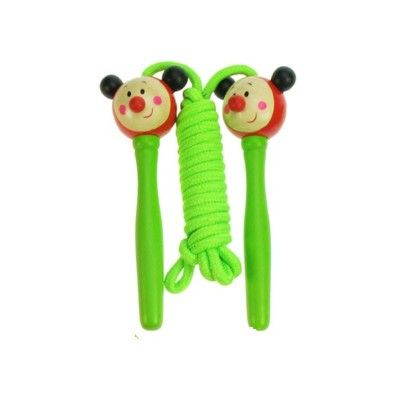 Hopprep - nyckelpiga - gröna handtag