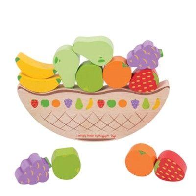Balansspel med frukt - Bigjigs