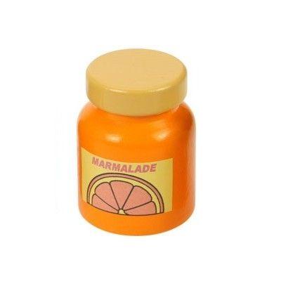 Leksaksmat - Burk i trä - marmelad