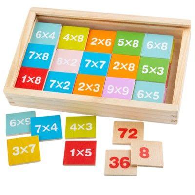Lär dig räkna - multiplikation - Bigjigs