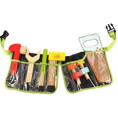 Snickarbälte med verktyg - Bigjigs