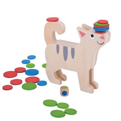 Balansspel med katt - Bigjigs