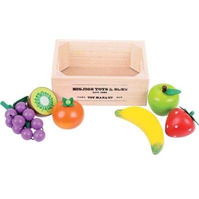 Leksaksmat - Frukt i låda