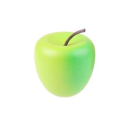 Leksaksmat - Äpple i trä, grön