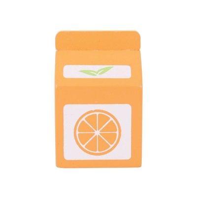 Leksaksmat - Apelsinjuice i trä - Bigjigs