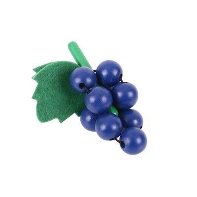 Leksaksmat - Vindruvor i trä
