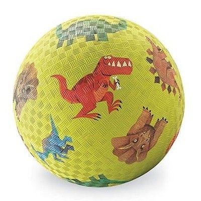 Lekboll - 18 cm - Dino, grön - Crocodile Creek